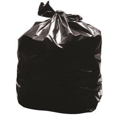 Black Bin Liner - Refuse Sack