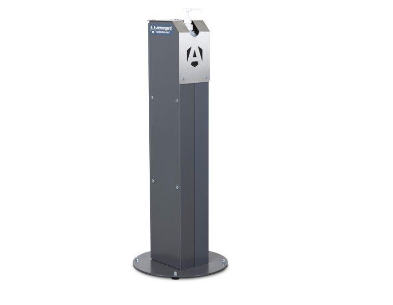 Armorgard Sanistation Mini 5 L Pump Sanitiser Stand with Storage