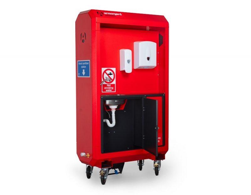 Armorgard Sanistation Pro Sanitising and hand washing Unit Mains Fed