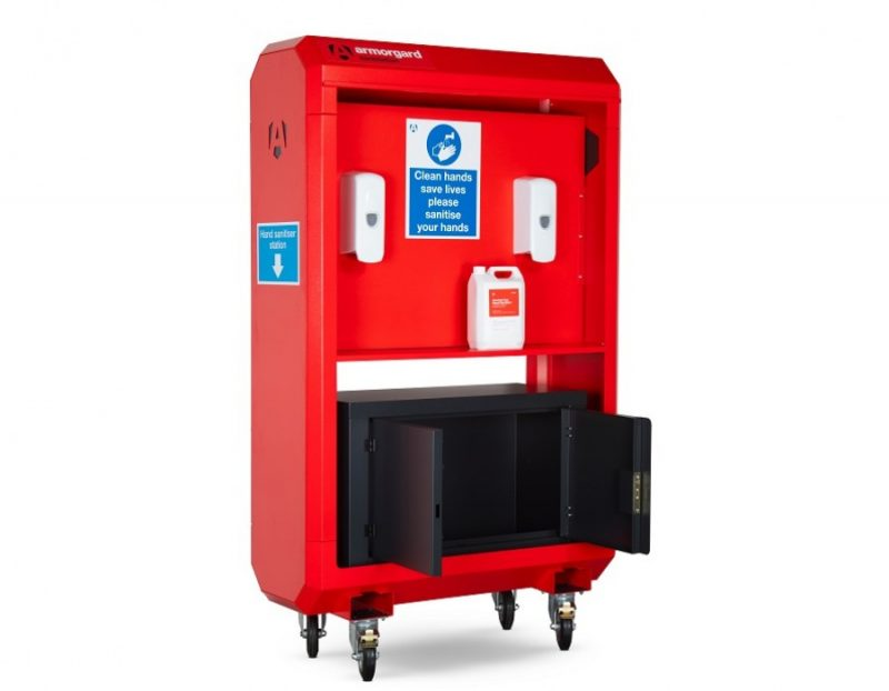 Armorgard Sanitstation Site Unit with Shelf