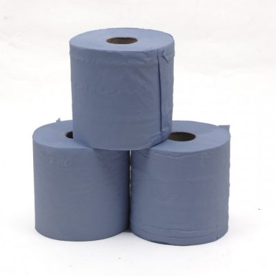 Blue Centre feed Roll Pack of 6
