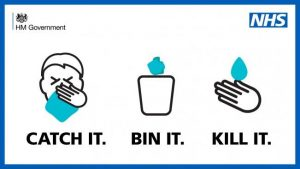Catch It Bin It Kill It -NHS Poster