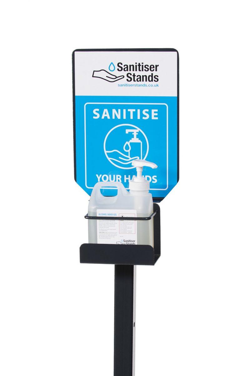 1 Litre Cradle Hand Sanitiser Stand