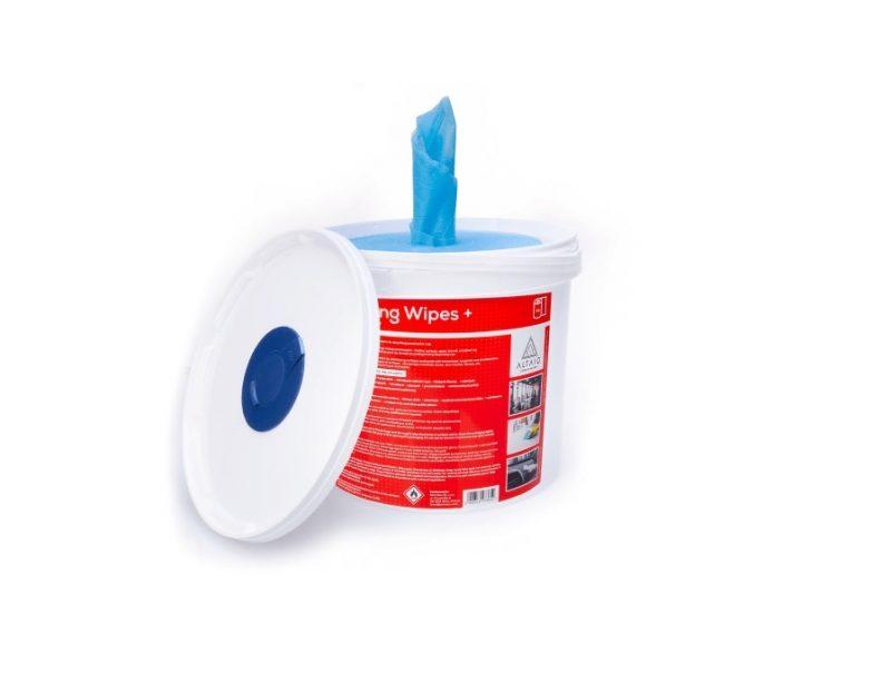 Sanitizing Wipes + (70% Alcohol)