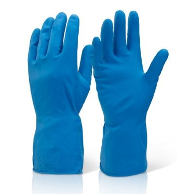 household medium weight rubber gloves